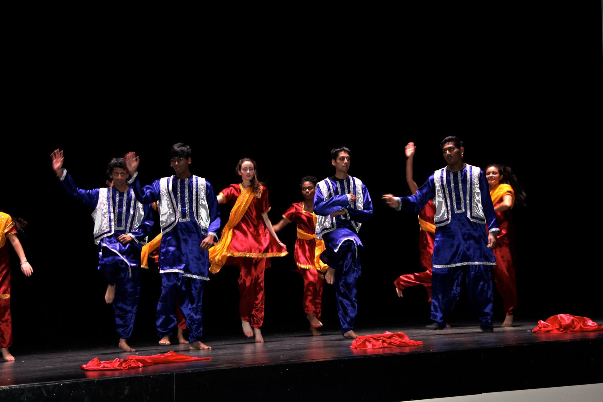 Huron ISA at 2017 Multicultural Dance Performance